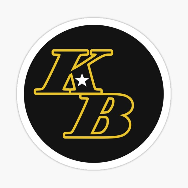 Kobe Bryant KB New Style Sticker