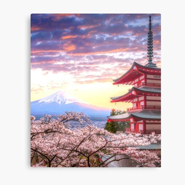 Mt Fujisan Metal Print
