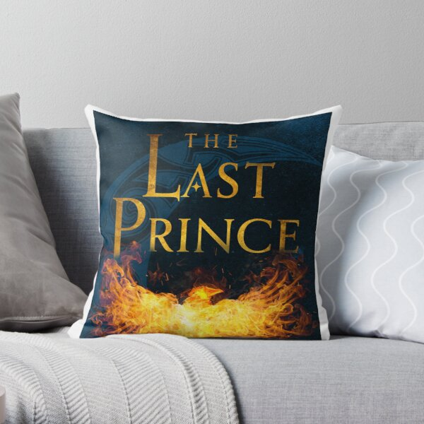 The Last Prince Book Cover Throw Pillow