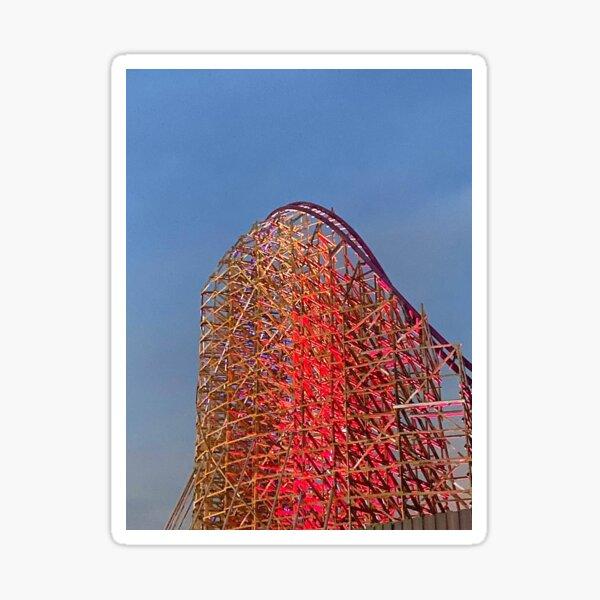 Iron Gwazi Roller Coaster at Busch Gardens, Tampa, FL Sticker