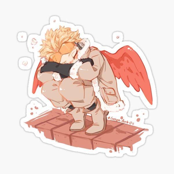 Oiseau endormi Sticker