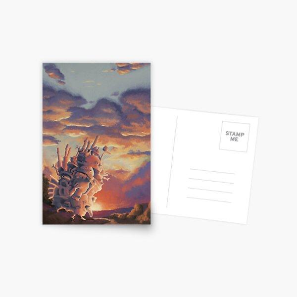 Château errant Carte postale