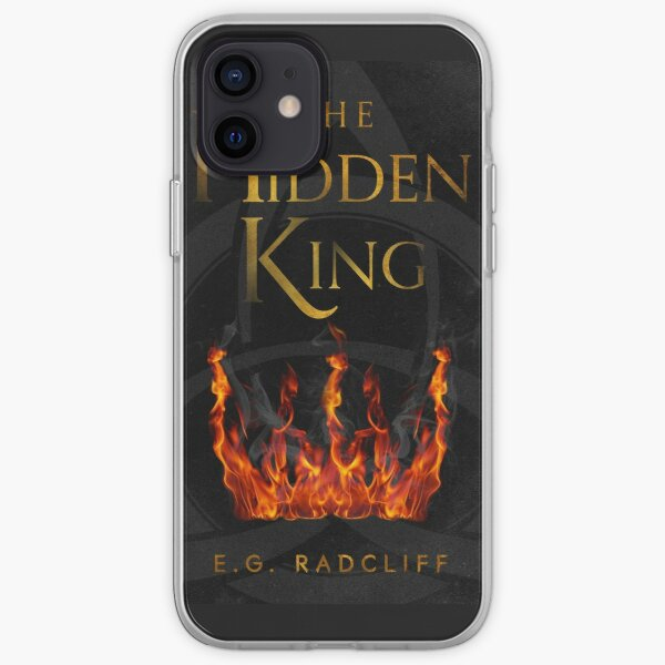 The Hidden King Book Cover iPhone Soft Case
