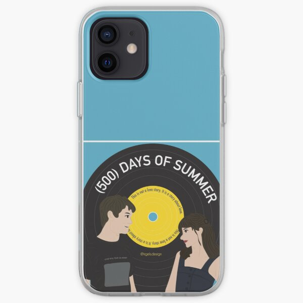 Tom & Summer - (500) Days of Summer - This is not a love story - Vinyl Record iPhone Soft Case
