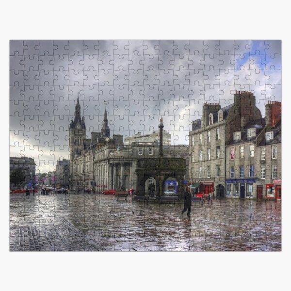 Aberdeen in the rain Jigsaw Puzzle