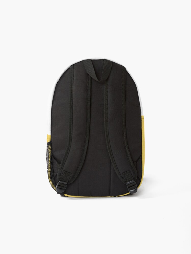 Alternate view of قصص حب_Love stories black Print and fabric تي شيرت Backpack