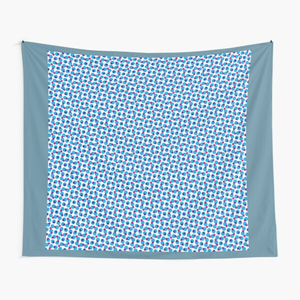 Blue Party Tapestry