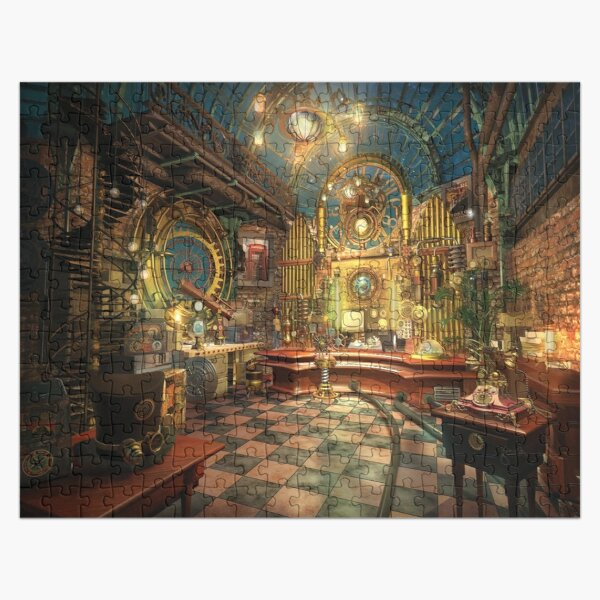 Surreal Steampunk Music Room from Fonebook  Jigsaw Puzzle