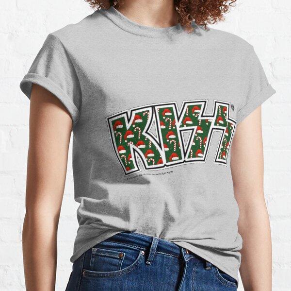 KISS band logo Christmas Classic T-Shirt
