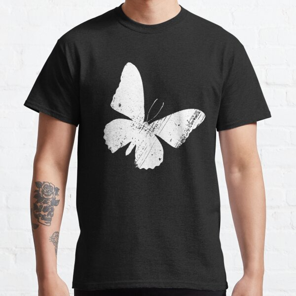 Distressed Butterfly slanted Classic T-Shirt