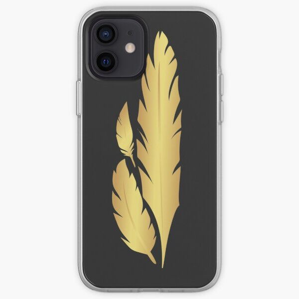 Hawkmoon Golden Feathers iPhone Soft Case