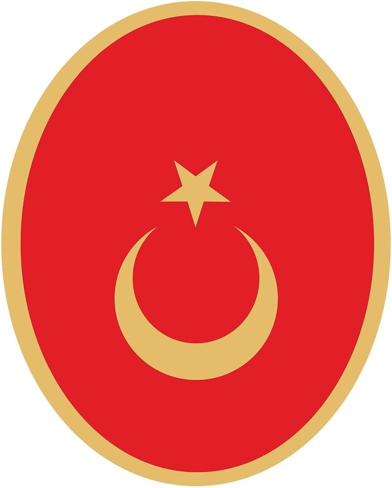 Emblem of Turkey  by abbeyz71