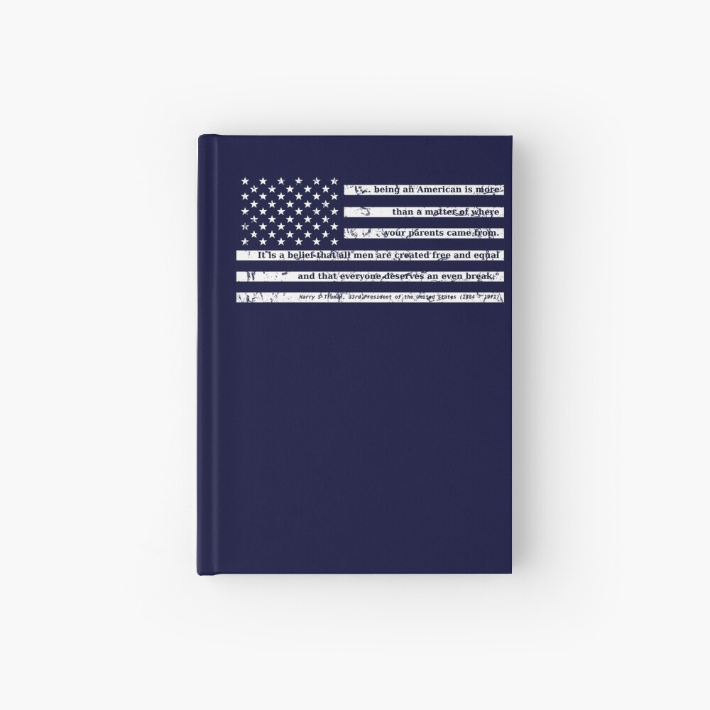 Truman on Being American Hardcover Journal