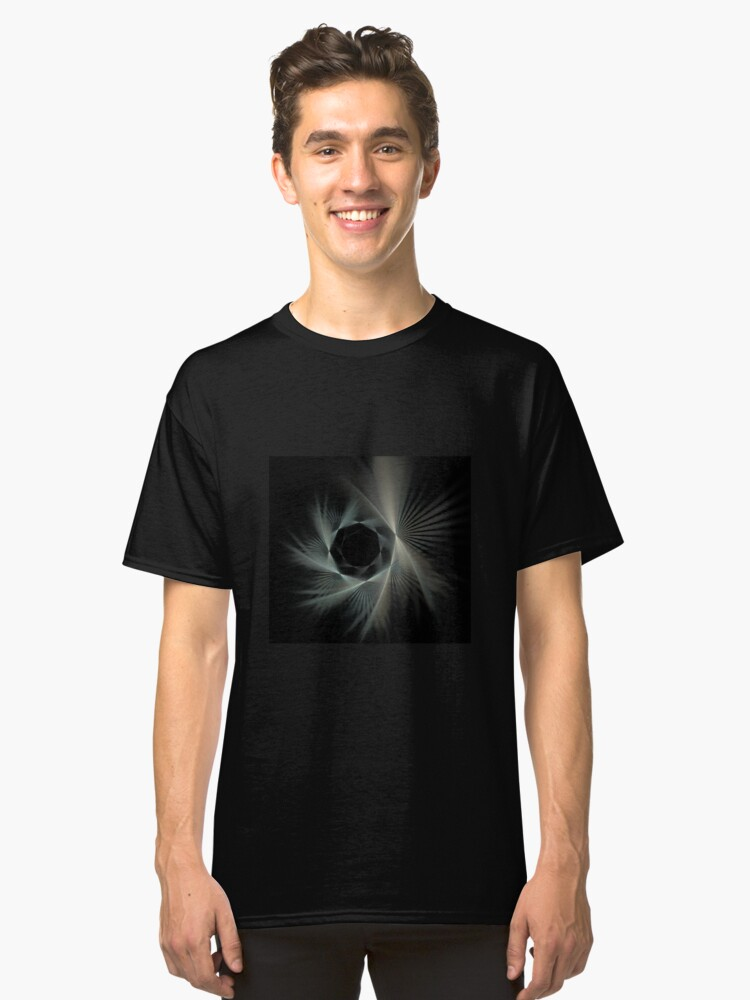 Alternate view of Spiraling Into The Night Classic T-Shirt