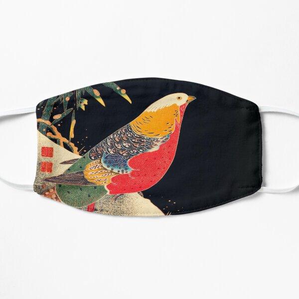 Golden Pheasant in the Snow - Ito Jakuchu Flat Mask