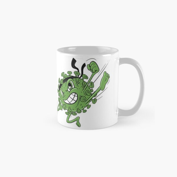 Green Covid Karate WTFBrahh  Classic Mug