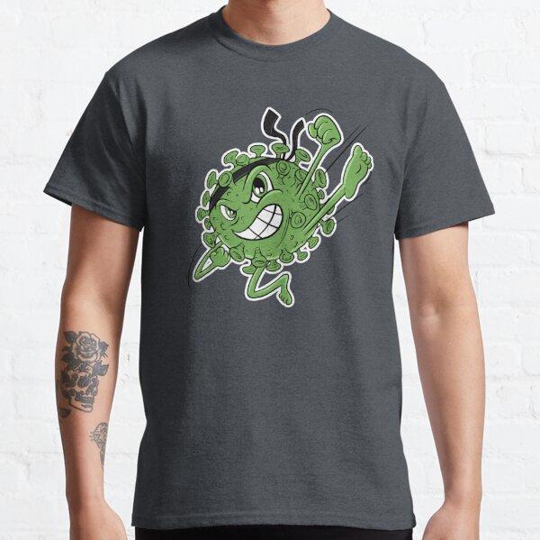 Green Covid Karate WTFBrahh  Classic T-Shirt