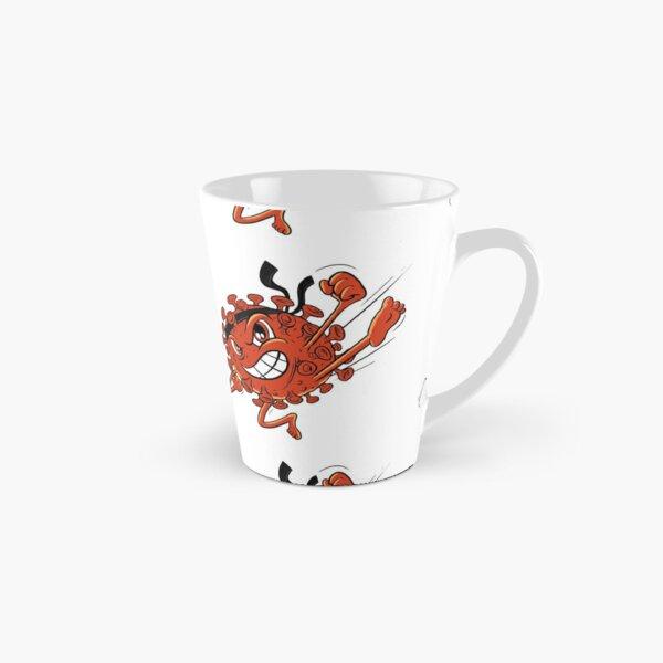 Red Covid Karate WTFBrahh  Tall Mug