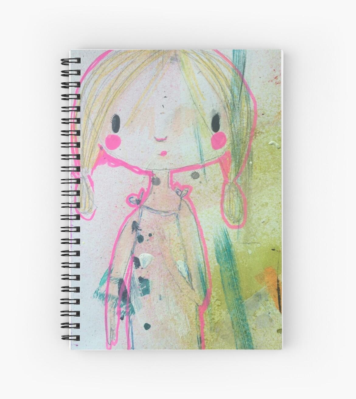 Pink Aura Wonder Girl by Bree Bruington