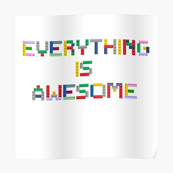 Tout est génial Poster