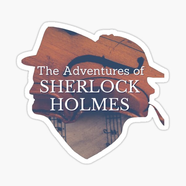 SNTC's The Adventures of Sherlock Holmes Sticker