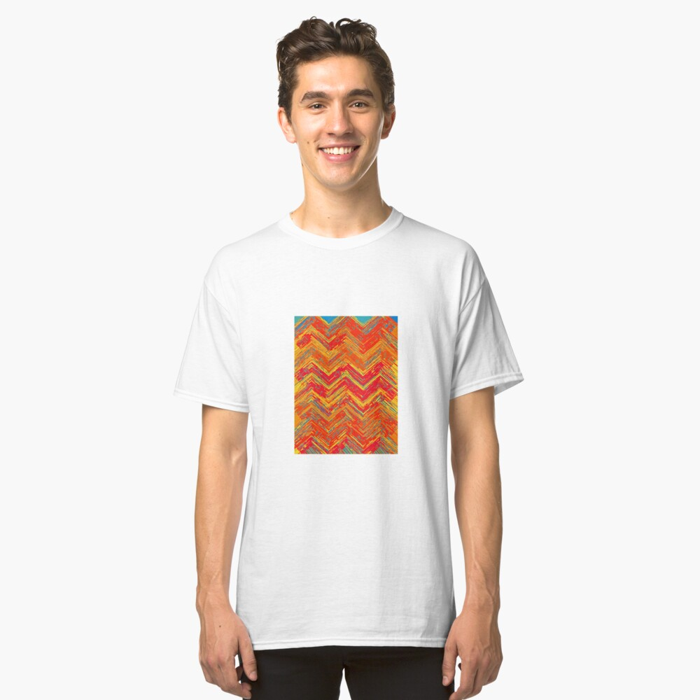"""""""Tribal Pattern"""" Classic T-Shirt Front"""