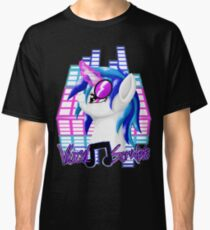 MLP Vinyl Scratch: For The Love Of Music Classic T-Shirt