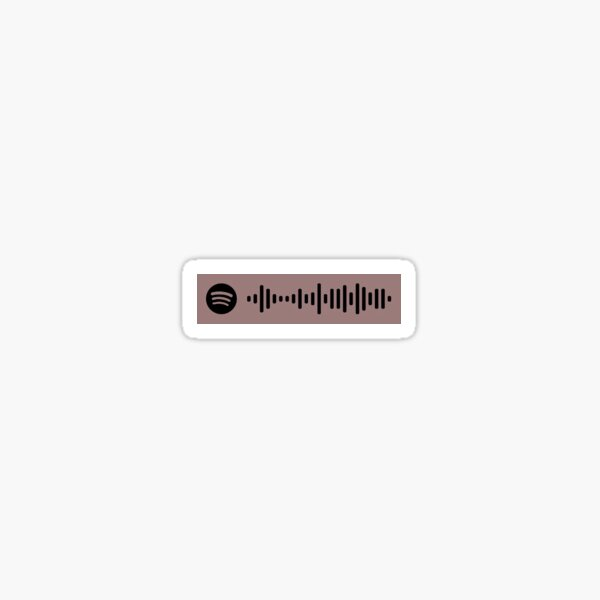 The Way Life Goes lil uzi vert oh wonder spotify code Sticker