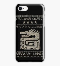 Monster Hunter Required - Lagiacrus iPhone Case/Skin
