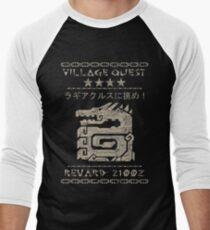 Village Quest - Lagiacrus Men's Baseball ¾ T-Shirt
