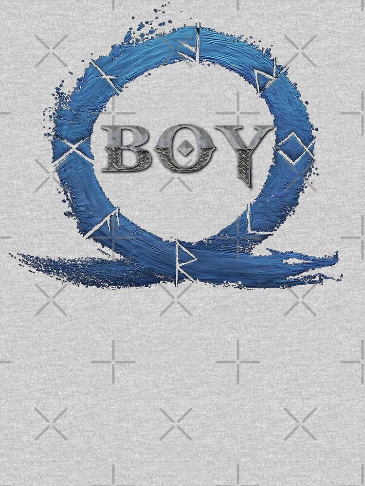 BOY : God of War (Blue) by myheadisaprison