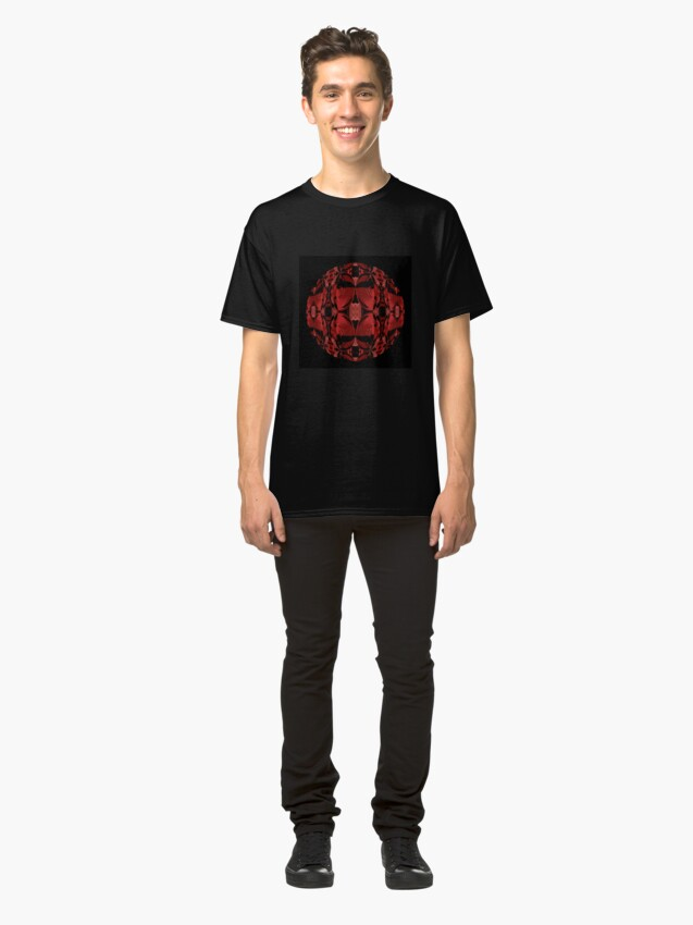 Alternate view of Liquid Light - Blood Diamond Classic T-Shirt