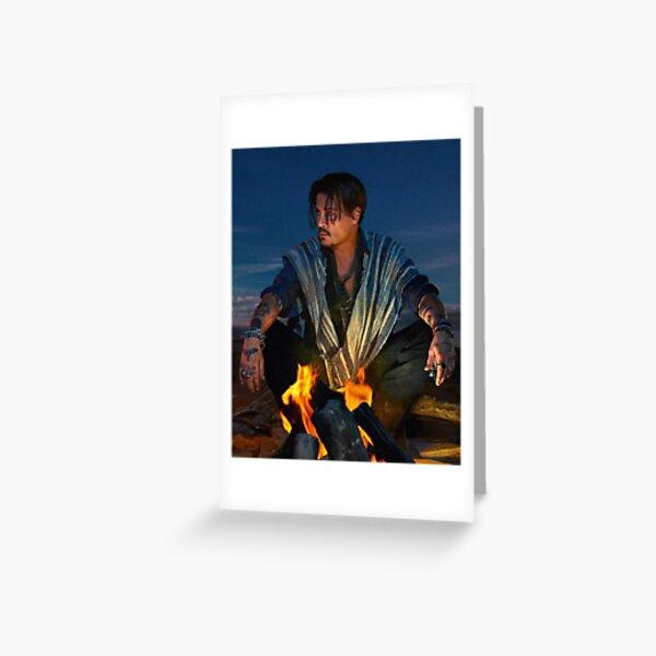Johnny Depp Carte de vœux
