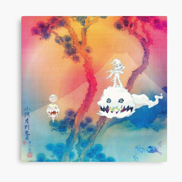 kids see ghosts Canvas Print
