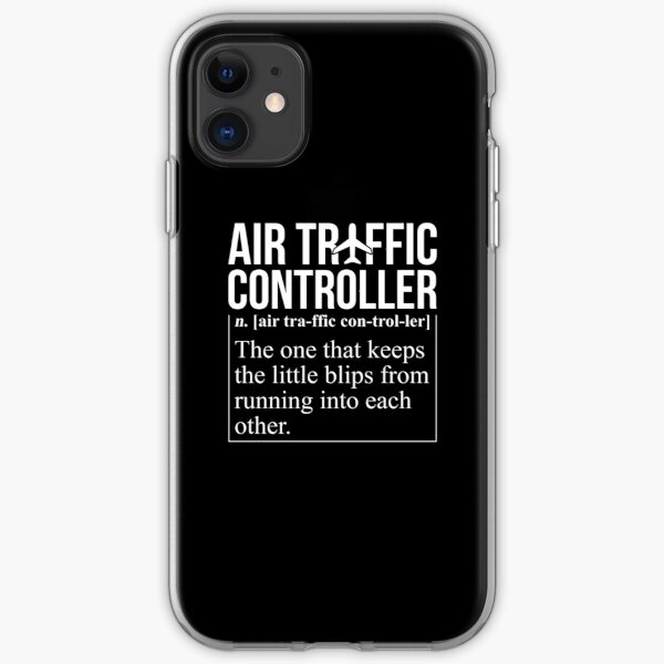Air Traffic Controller Funny Definition iPhone Soft Case