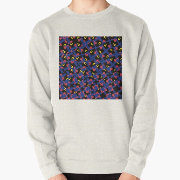 Butterfly Migration in Blue Pullover Sweatshirt