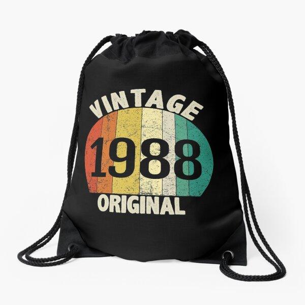 Cool Original 1988 birth year Drawstring Bag