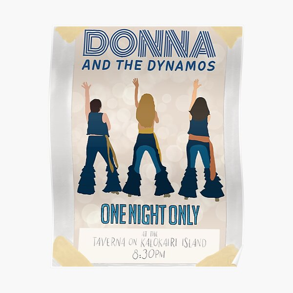 Donna & The Dynamos Poster