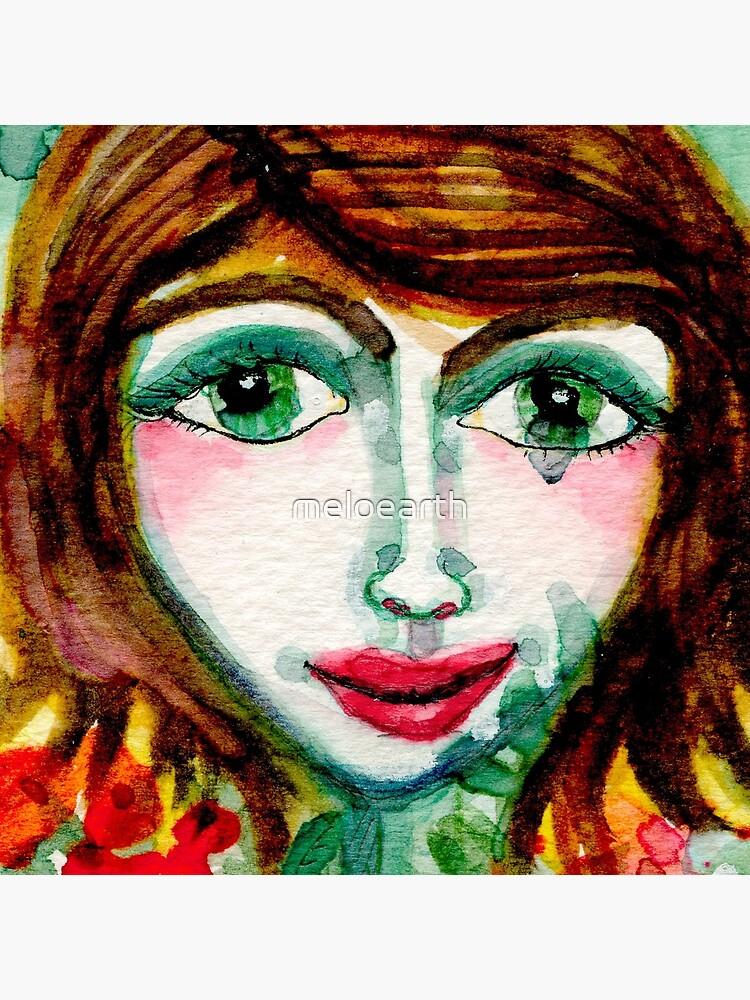 Flower Girl  by meloearth