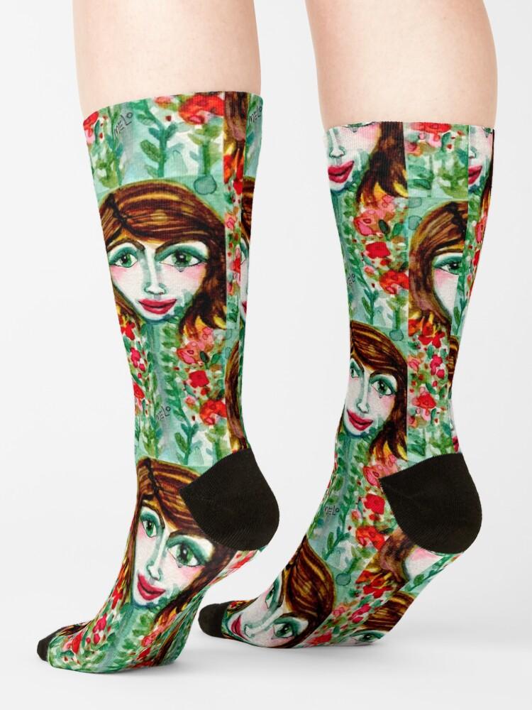 Alternate view of Flower Girl  Socks