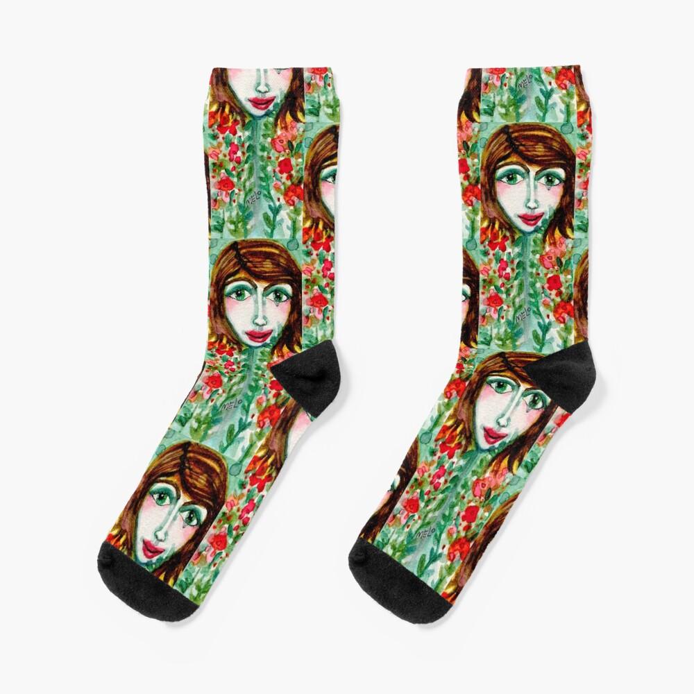 Flower Girl  Socks