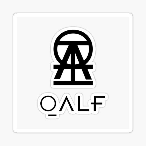 QALF / Damso Sticker