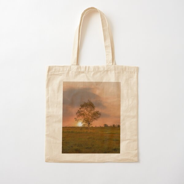 Summer evening Cotton Tote Bag