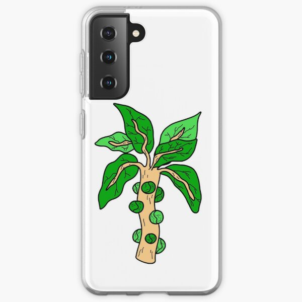 Cool Brussels Sprouts Illustration Samsung Galaxy Soft Case