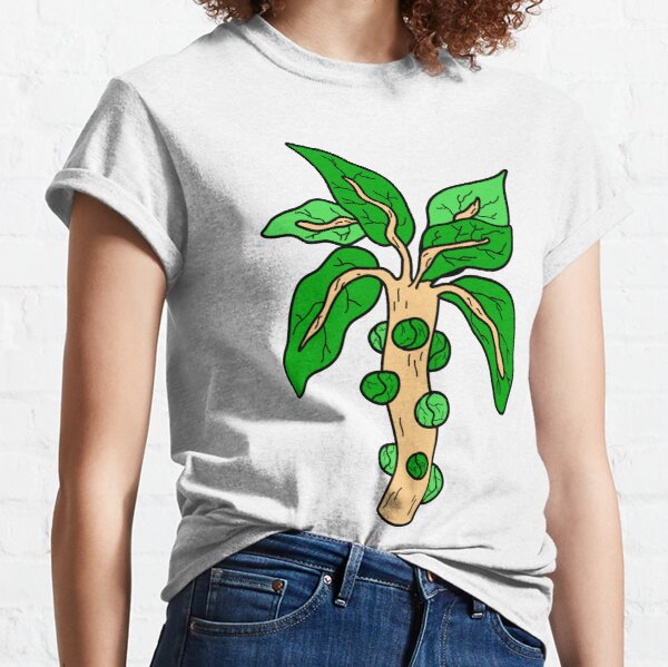 Cool Brussels Sprouts Illustration Classic T-Shirt