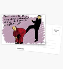 Up The Arse Postcards