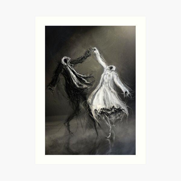 Glad Rags Art Print