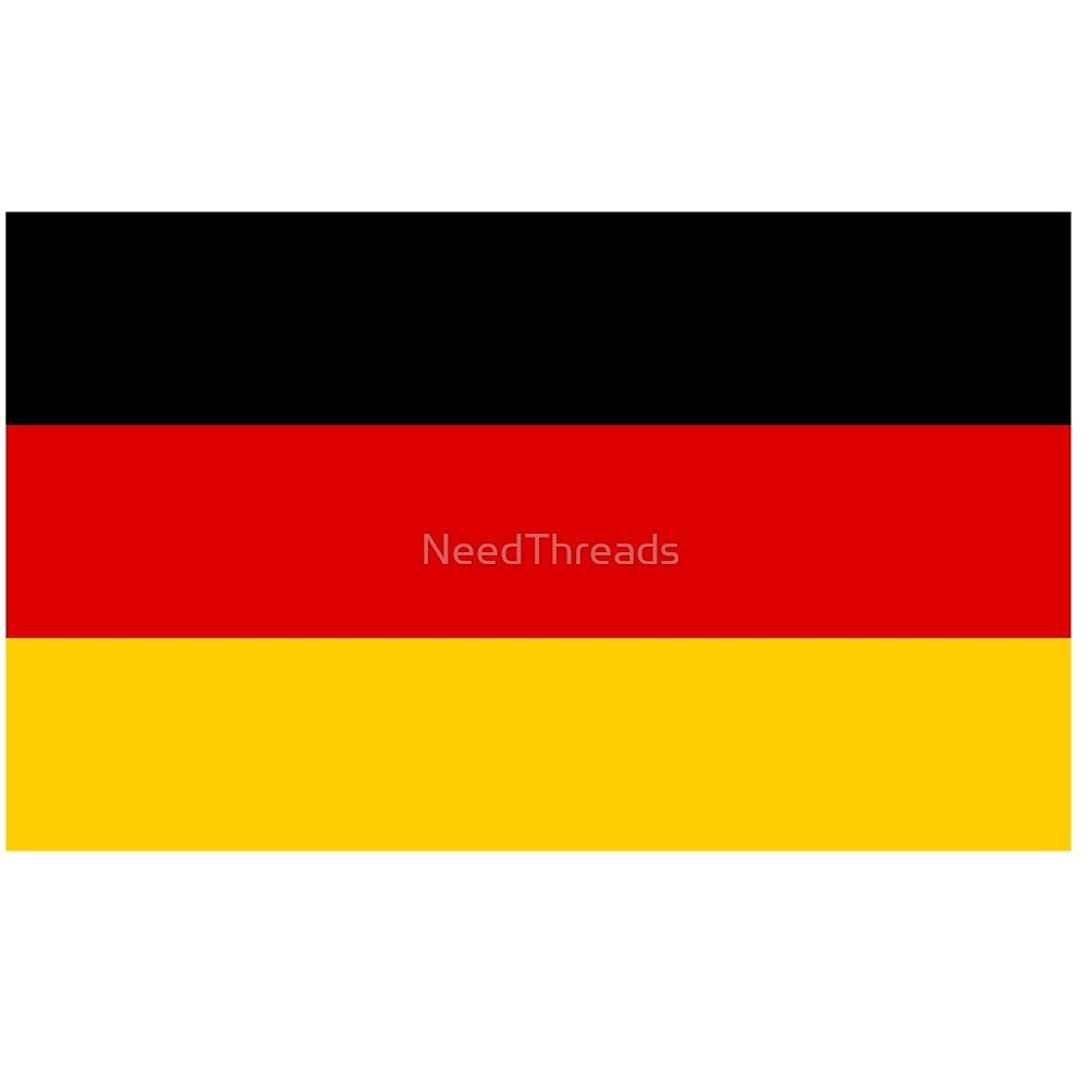 Germany Flag by NeedThreads
