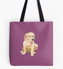Golden Puppy  Tote Bag