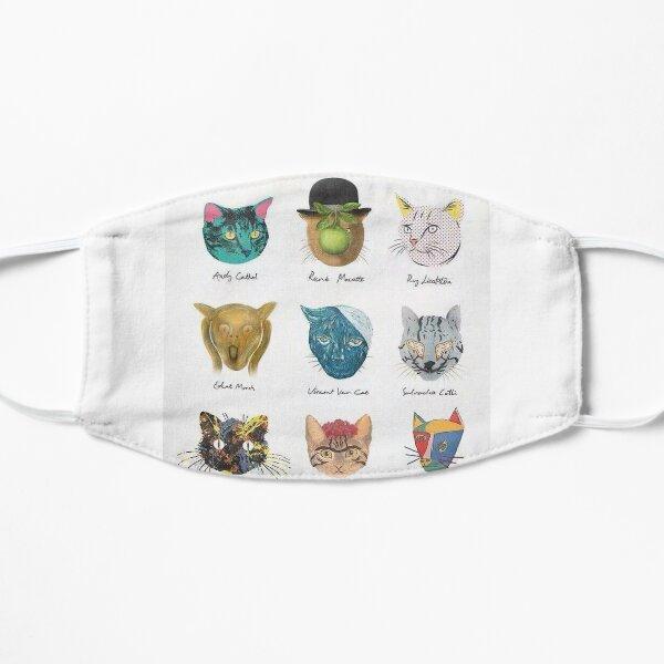 Famous cats Flat Mask